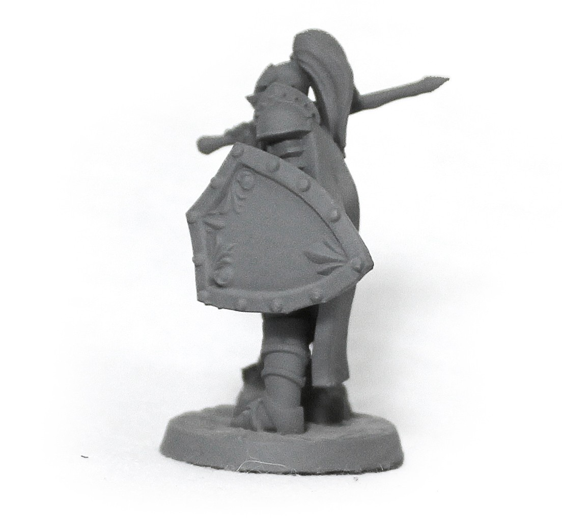 Cavaleiro miniatura RPG Boargame Hobby pintura - guerreiro M5  - Dragon Store