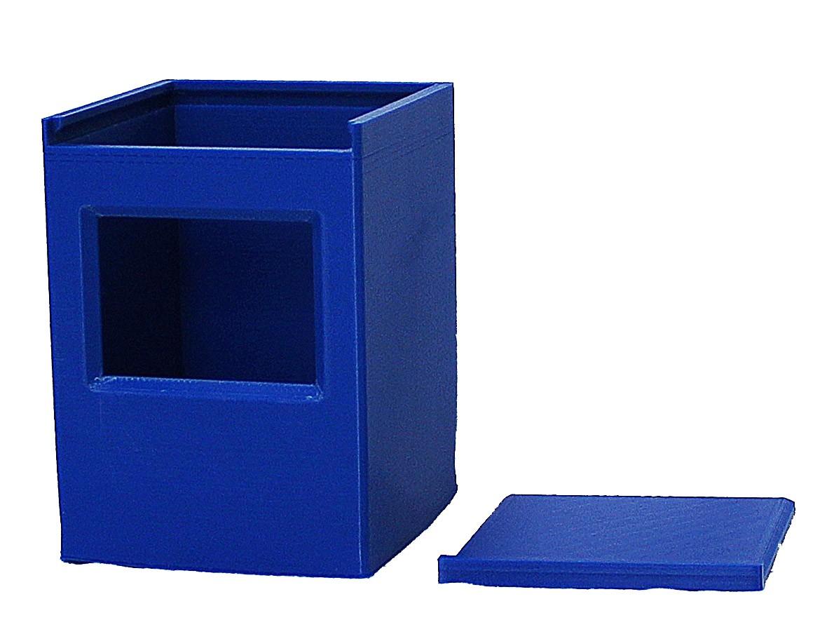 Deckbox Magic commander  Caixa para baralho 100 cartas card game  - Dragon Store