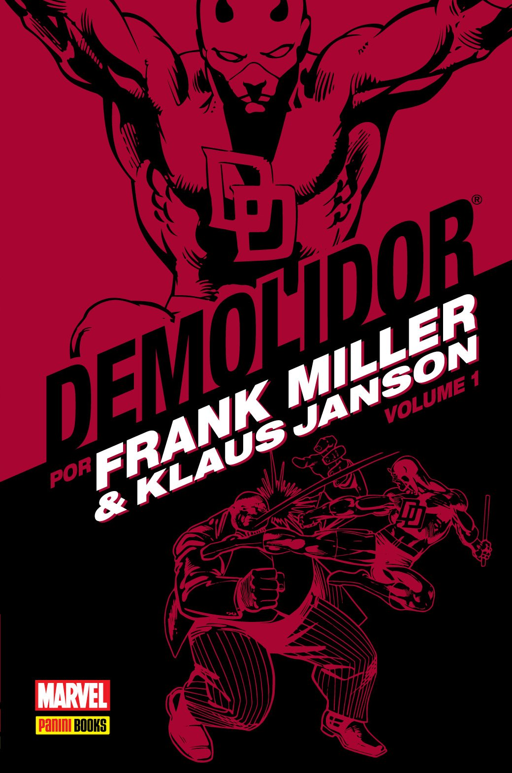 Demolidor - Volume 1 Capa Dura Marvel   - Dragon Store