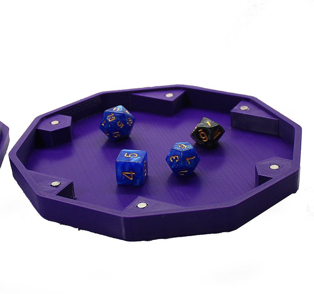 Dicebox para RPG - Caixa para 18 dados  - Dragon Store