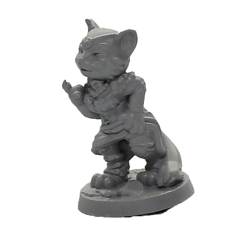 Garota gata miniatura RPG Boargame Hobby pintura   - Dragon Store