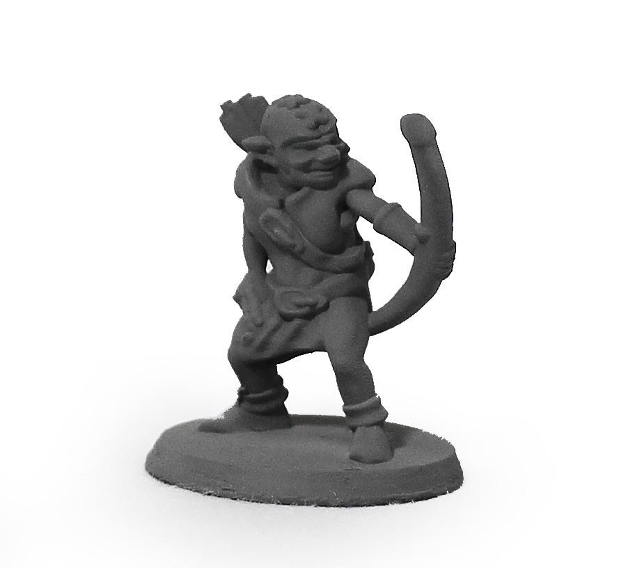 Goblin arqueiro miniatura RPG Boargame Hobby pintura