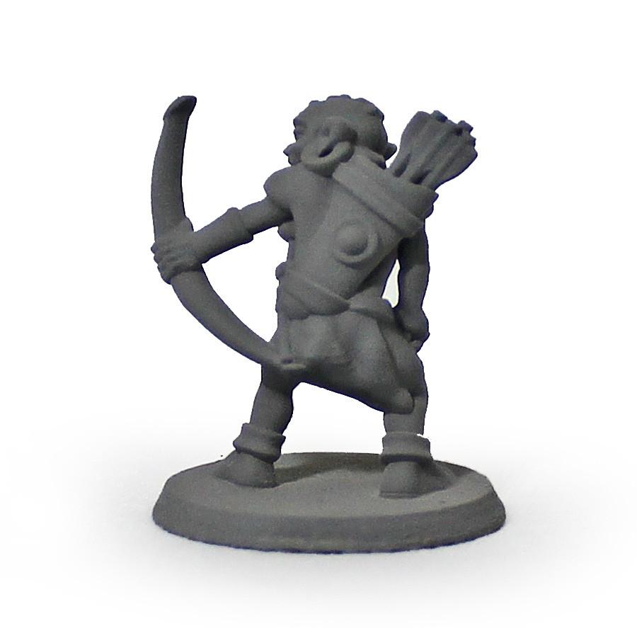 Goblin arqueiro miniatura RPG Boargame Hobby pintura   - Dragon Store
