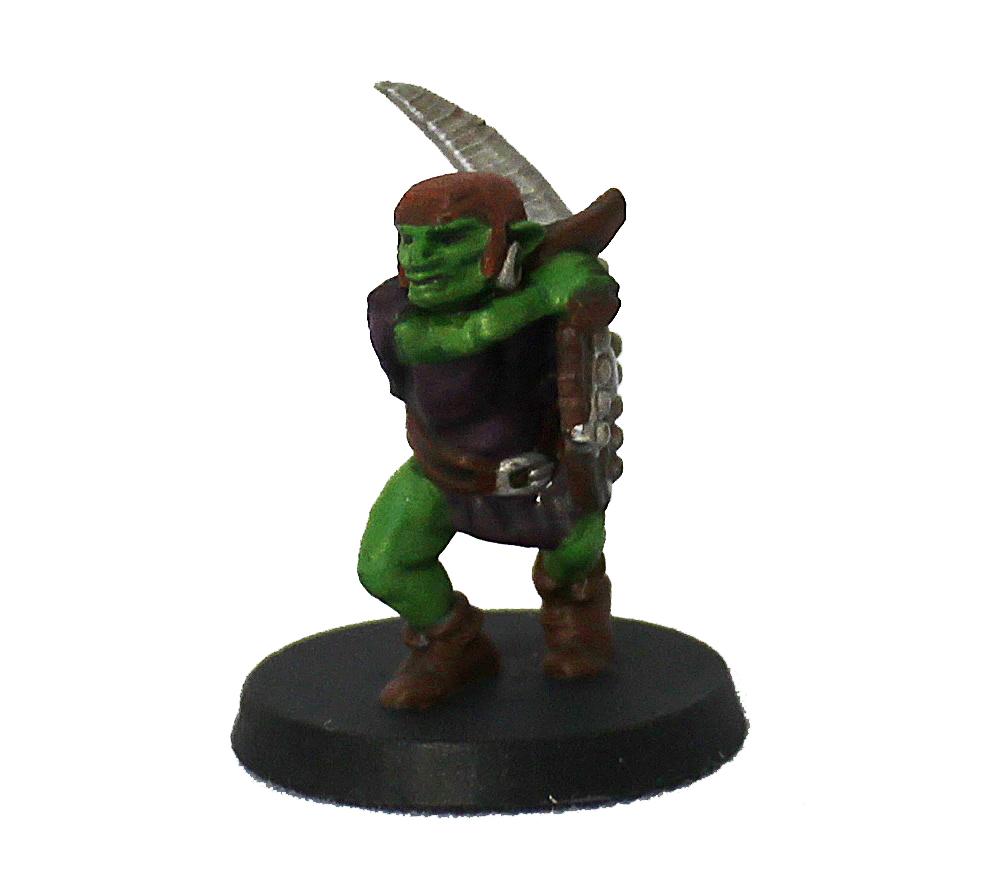Goblin guerreiro miniatura RPG Boargame Hobby Pintado  - Dragon Store