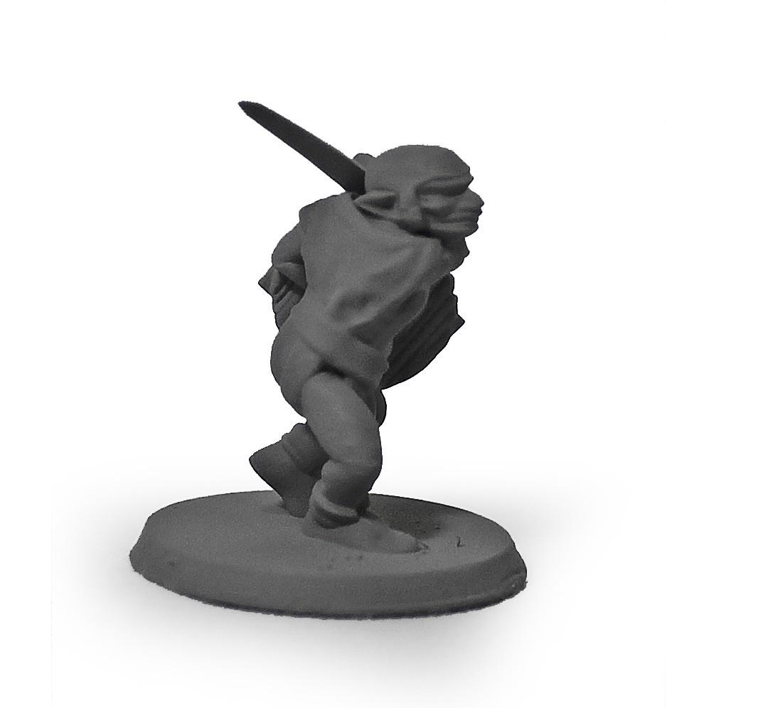 Goblin guerreiro miniatura RPG Boargame Hobby pintura   - Dragon Store