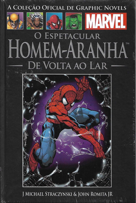 Graphic Novels Marvel nº 21 O Espetacular Homem Aranha - De Volta ao Lar Capa Dura  - Dragon Store