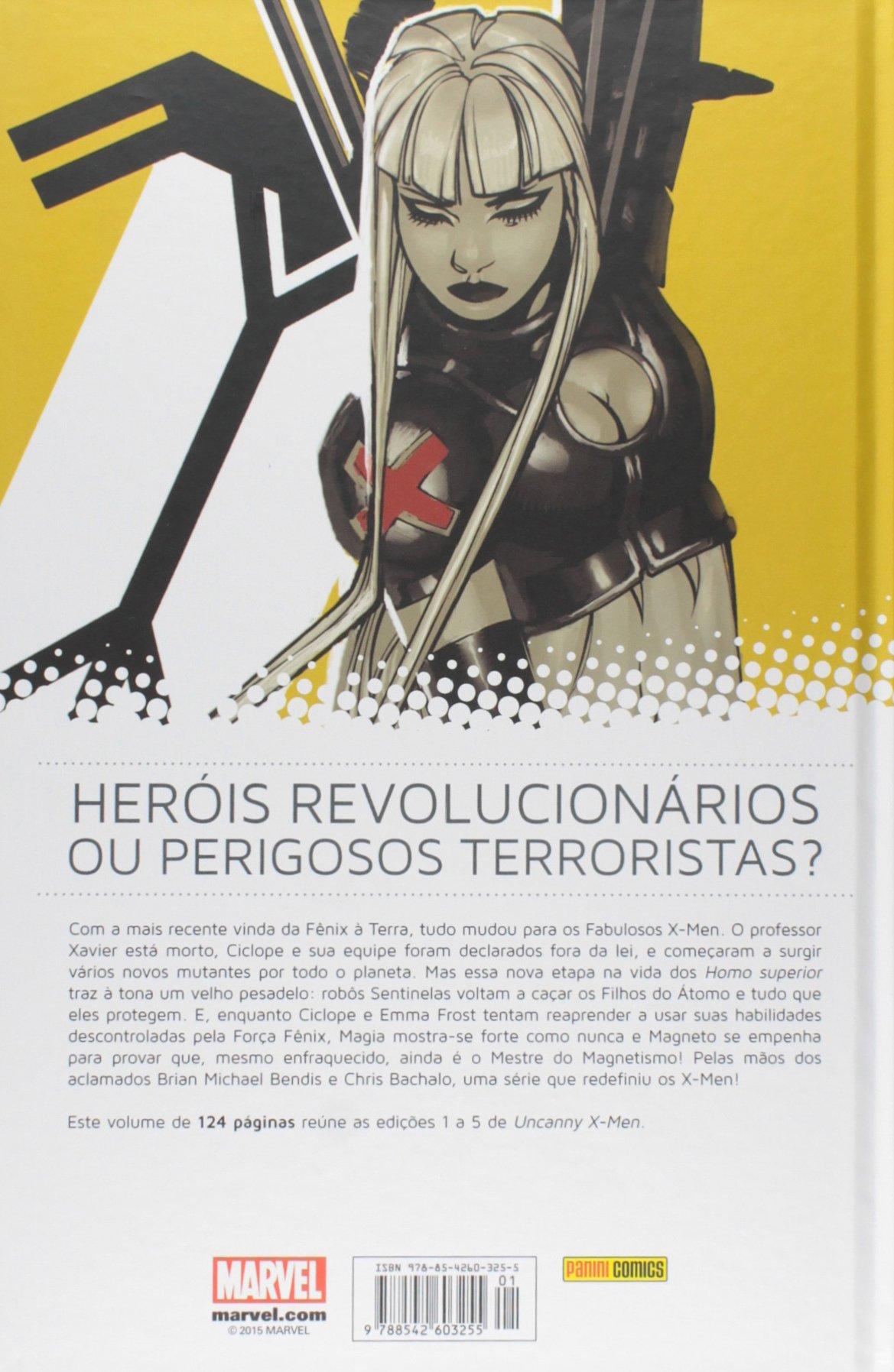 HQ Fabulosos X-men. Revolução - Volume 1 Capa Dura Marvel   - Dragon Store