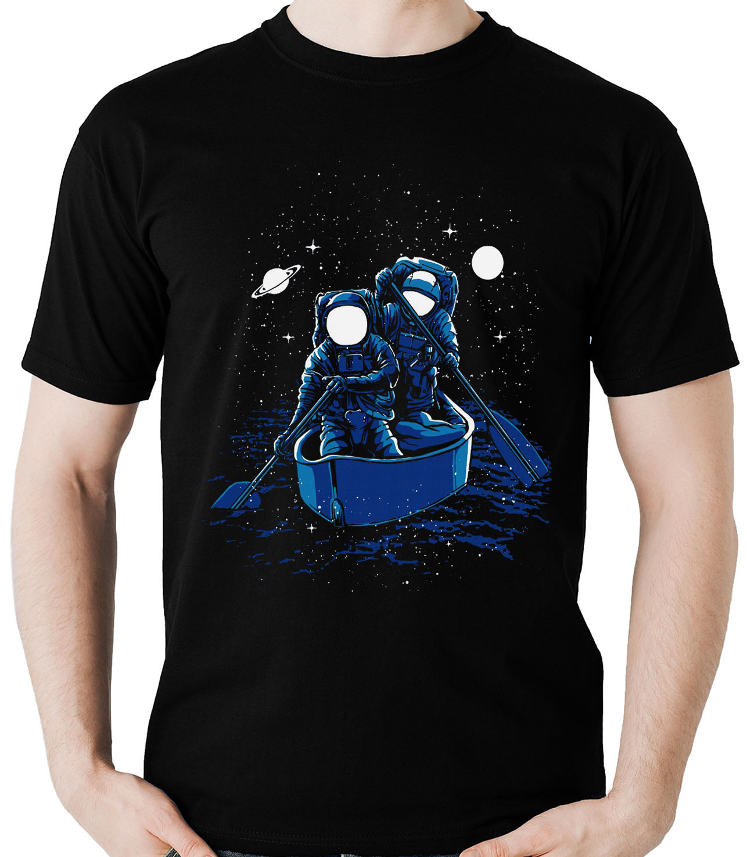 Kit 10 camisetas masculinas atacado Astronauta Navegando  - Dragon Store