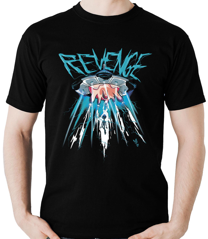Kit 10 camisetas masculinas atacado Revenge abdução alien vaca  - Dragon Store