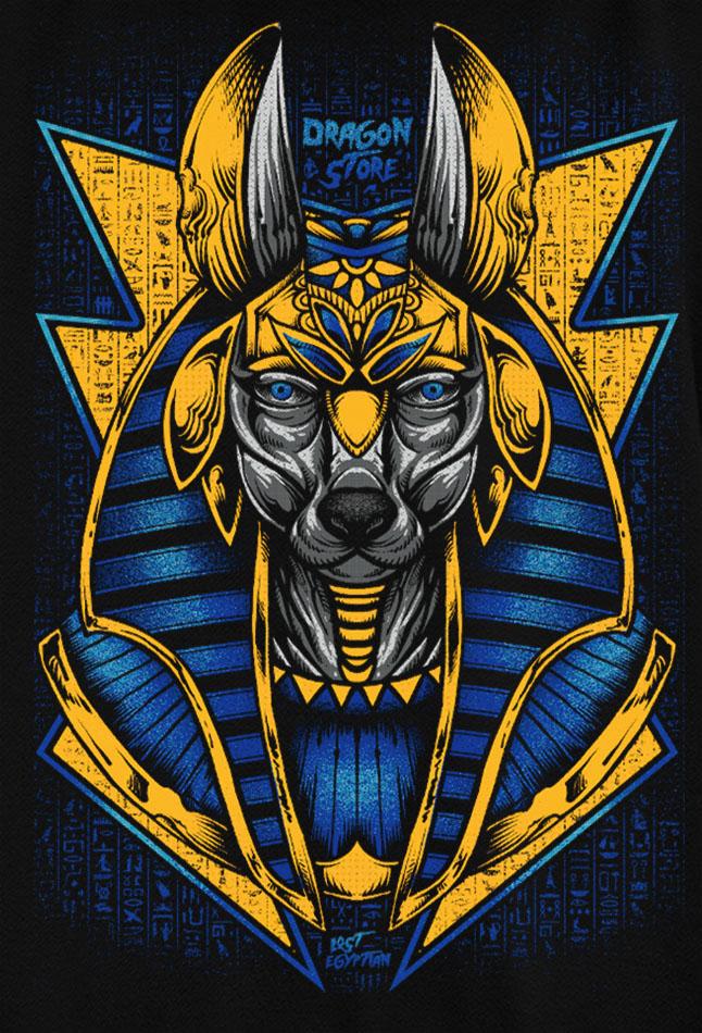 Kit 10 camisetas masculinas atacado Anubis - Mitologia Egito  - Dragon Store