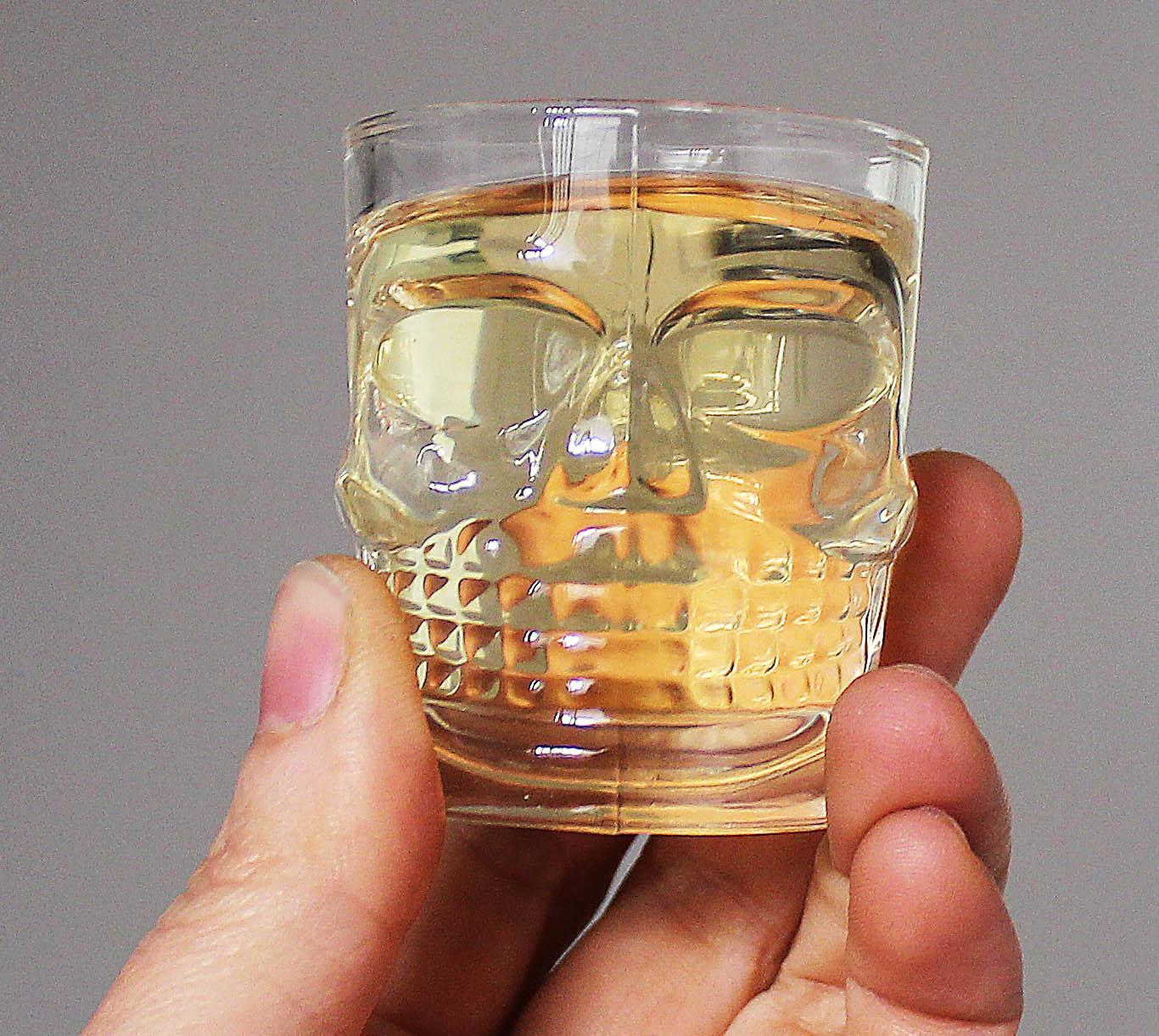kit 6 Copos dose caveira vidro shot tequila pinga cachaça bebida viking  - Dragon Store