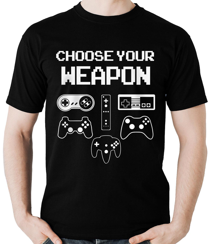 Kit Camisetas Controles de video game 2un  - Dragon Store