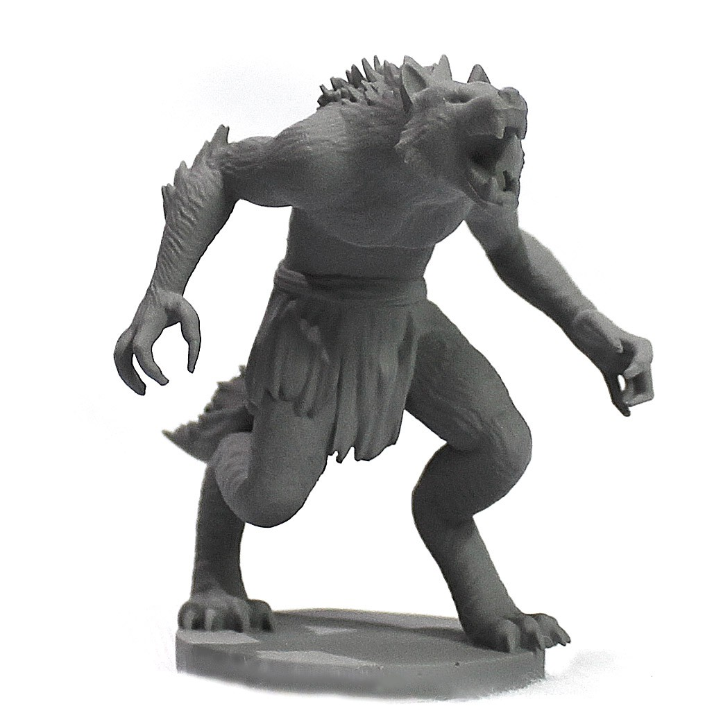 Lobisomem - Werewolf miniatura RPG Boargame Hobby pintura  - Dragon Store