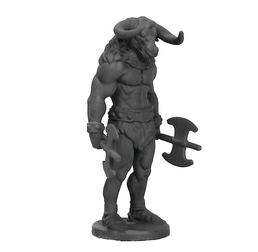 Minotauro miniatura RPG Boargame Hobby pintura - Monstro  - Dragon Store