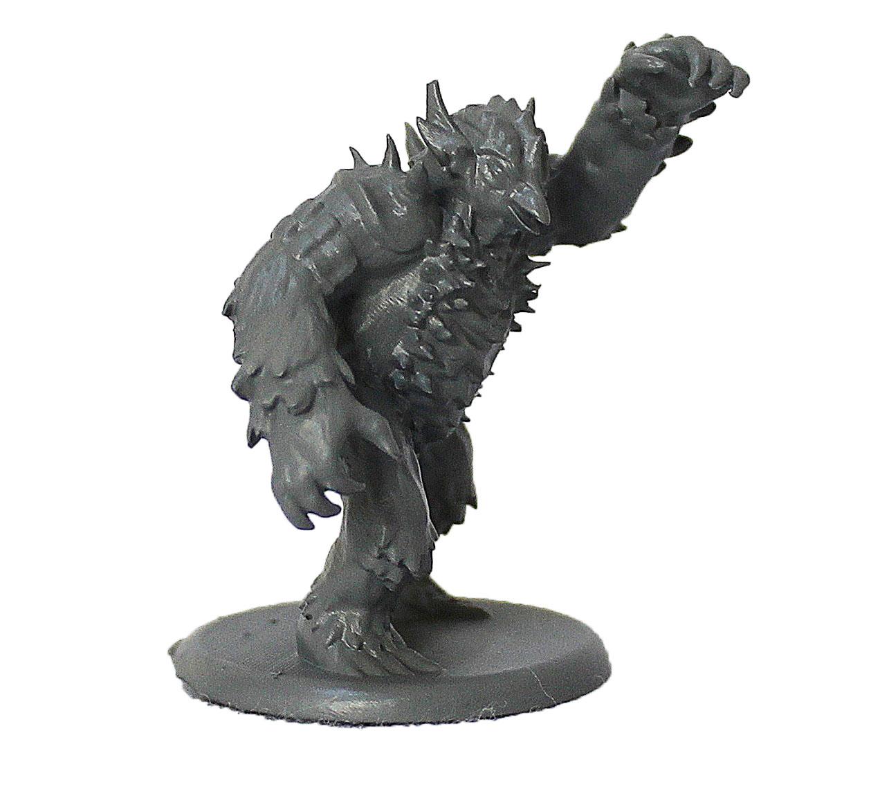 Owlbear Urso coruja miniatura RPG Boargame Hobby pintura  - Dragon Store