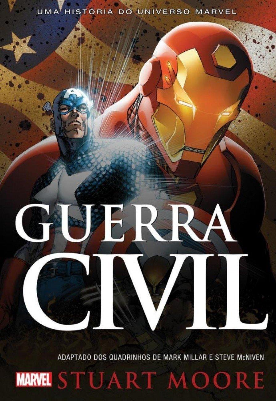 Romance adaptado: Guerra Civil Marvel