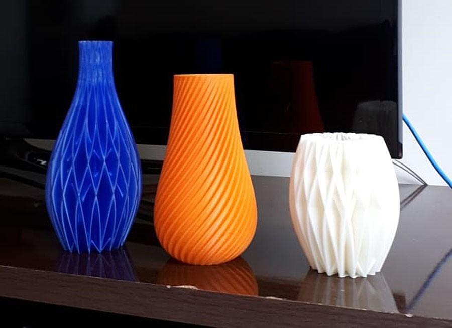 Vaso espiral decorativo  - Dragon Store