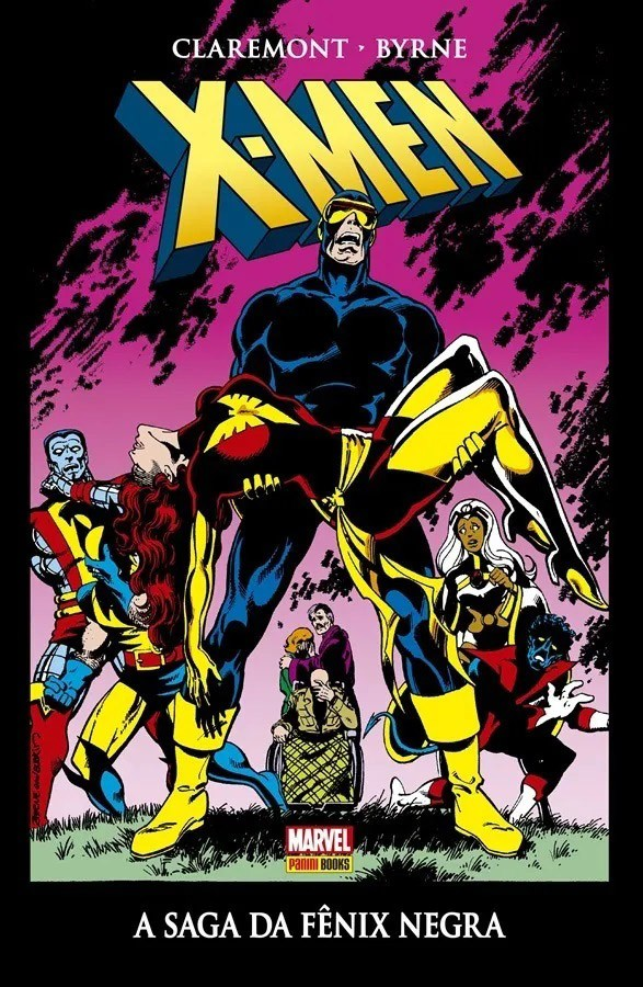 x-Man A saga da Fênix Negra Capa Dura Marvel