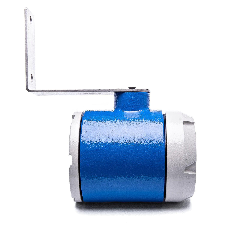BLIT-A Indicador de vazão e totalizador de fluidos com entrada digital com suporte tipo U - IP65