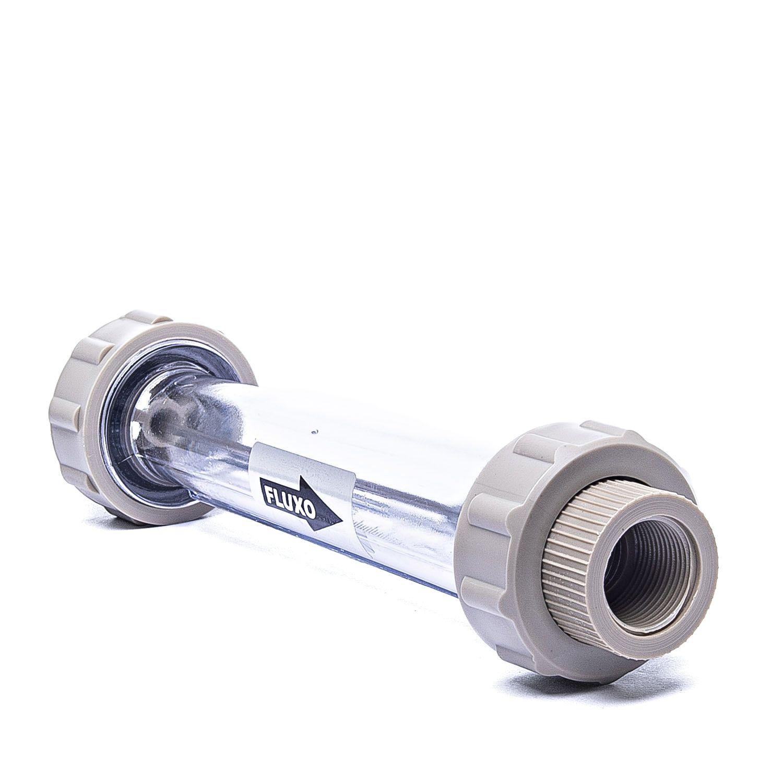 INF-R-P-200 Rotâmetro em policarbonato para medição em linha