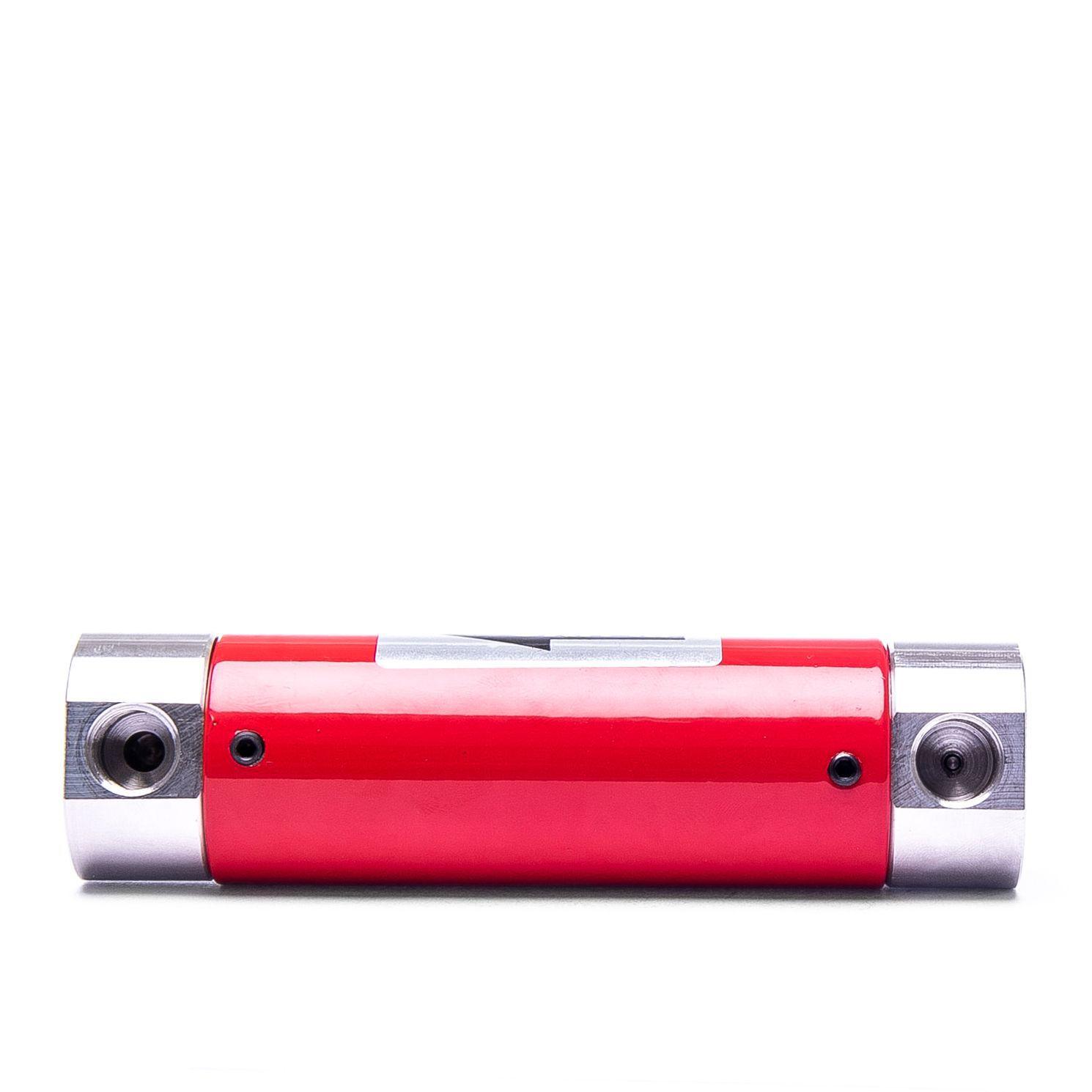 INF-R-V-14 Rotâmetro para micro vazões com válvula agulha opcional