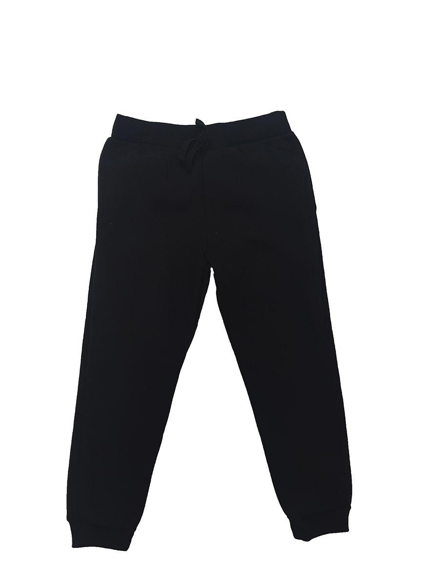 Calça preta Jogger com recorte - Infantil