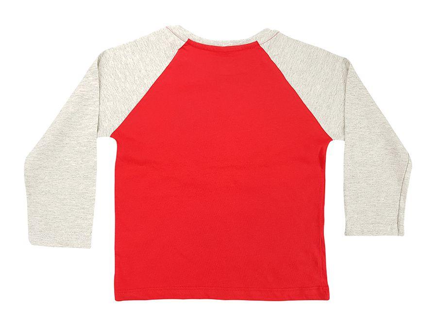 Camiseta manga raglan com estampa - Primeiros Passos