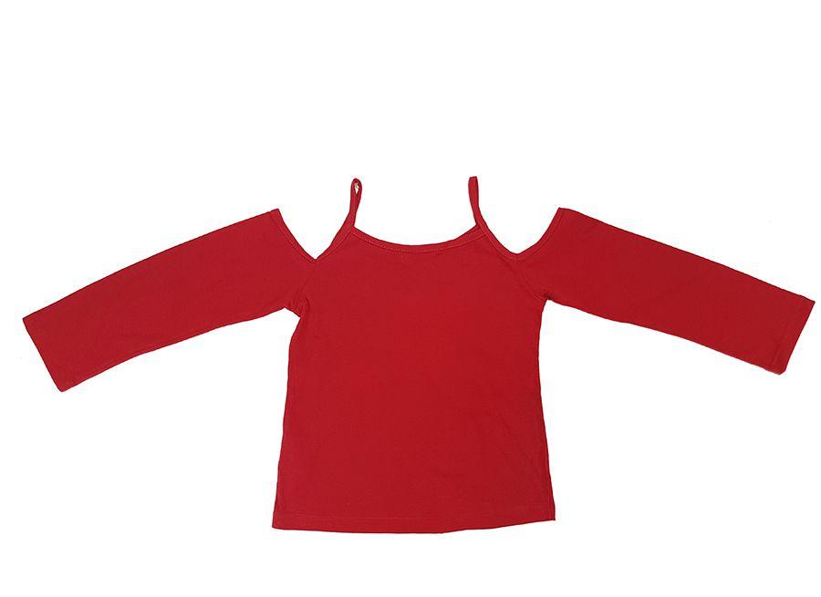 Conjunto Bata estampada com Legging mescla - Infantil