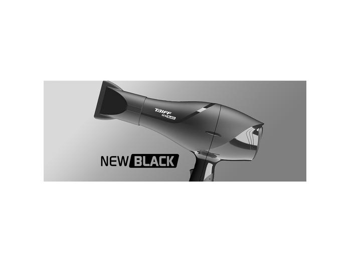 54f3a8fc7 Secador Taiff New Black 1900W - Tecnonline