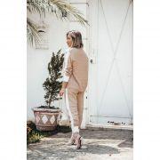 Conjunto Calça + Casaco Nude Vera Tricot
