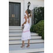 Vestido Tricot Modal Franciele - Branco