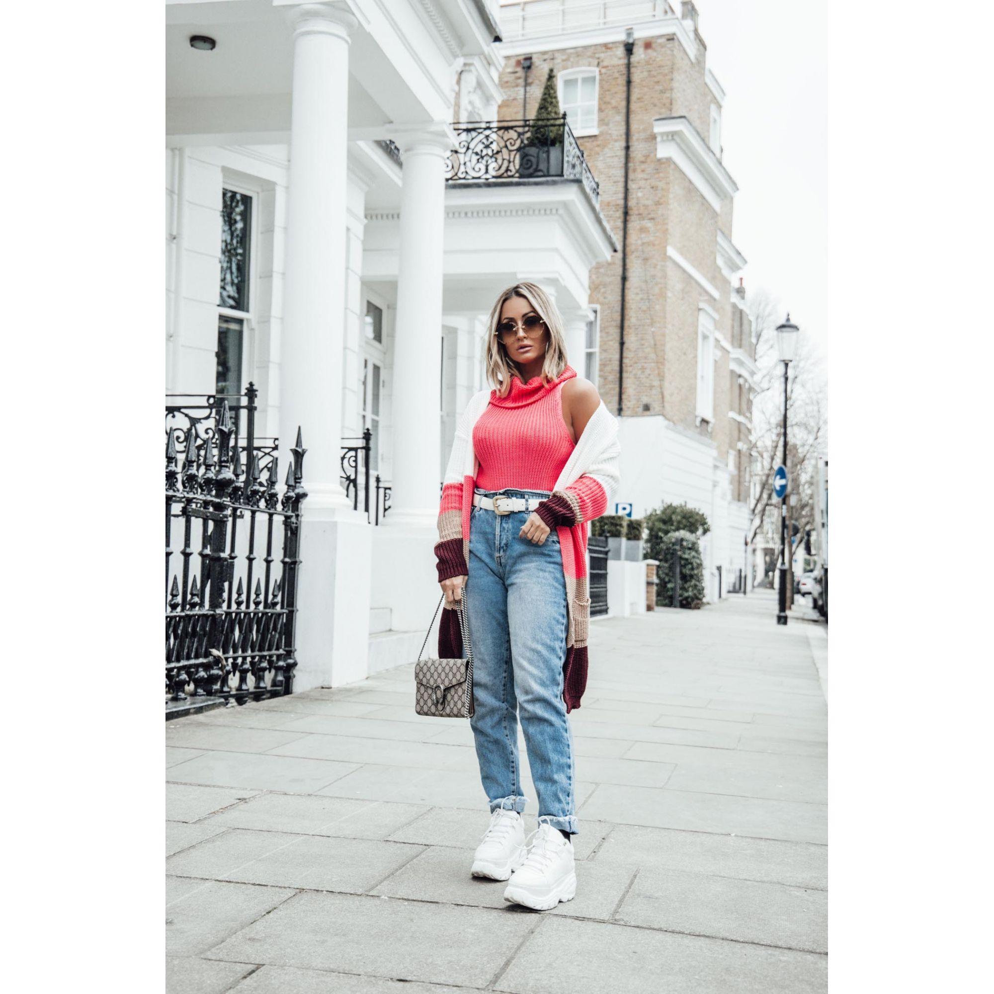 Blusa Regata Vera Tricot Feminino Pink Neon