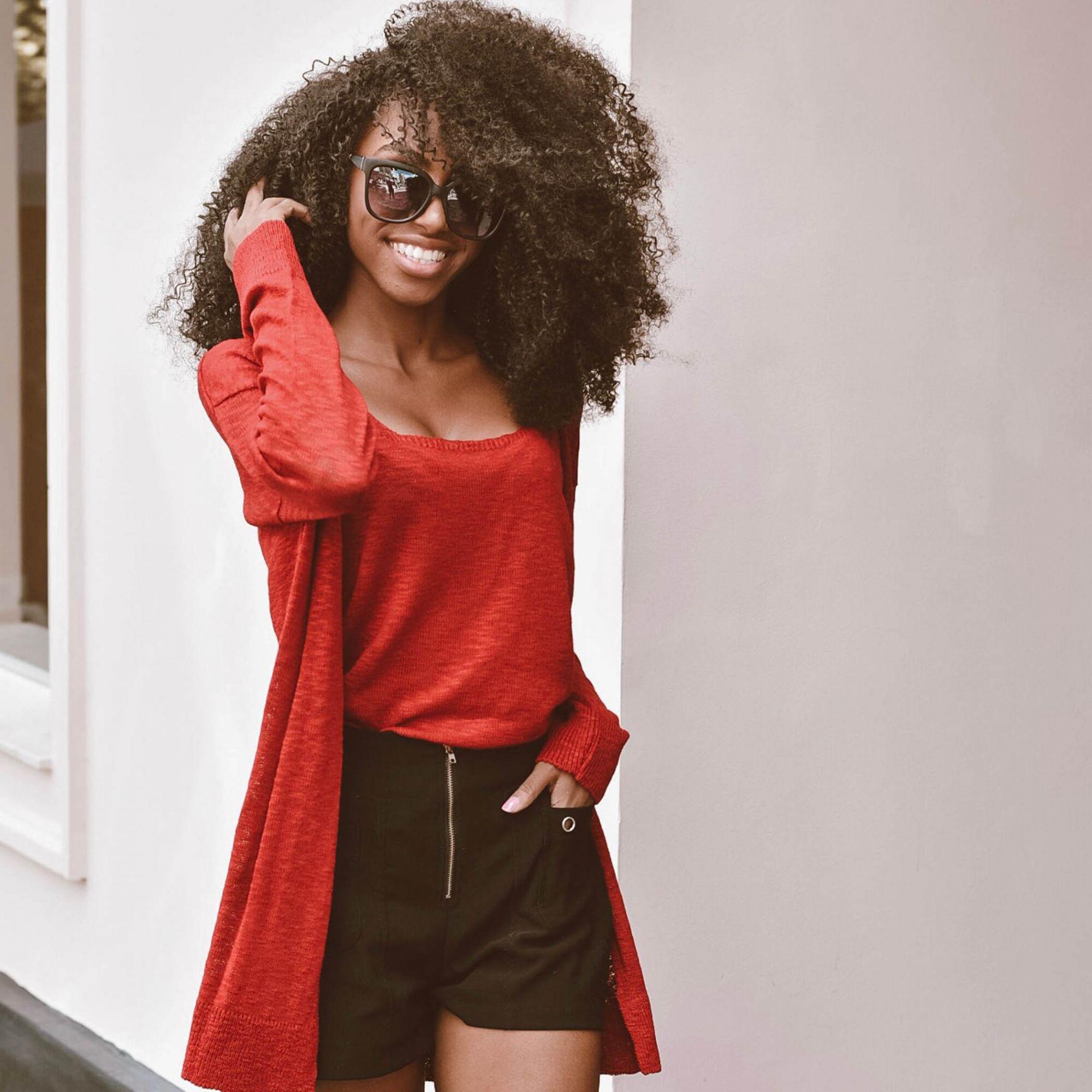 Blusa Regata Vera Tricot Feminino Vermelho