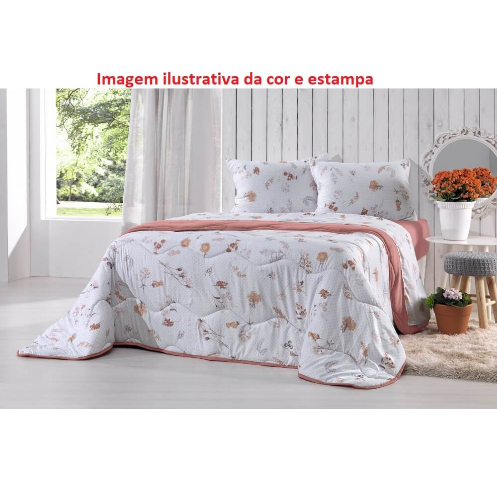 EDREDOM CASAL DUPLA FACE ALTENBURG NEW CONFORT SOL INVERNO