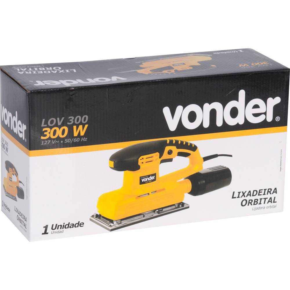 LIXADEIRA ORBITAL VONDER LOV300 22000OPM 300W
