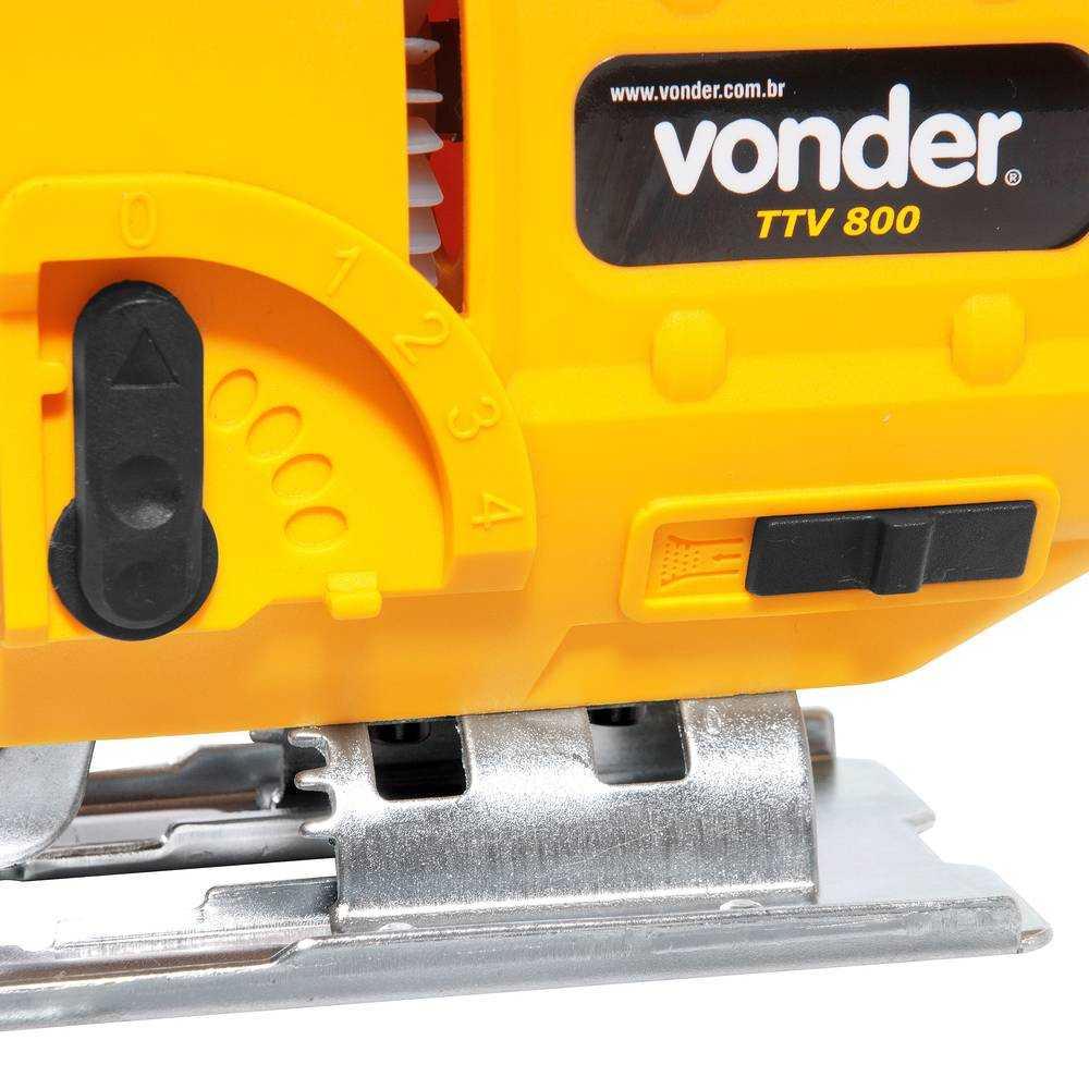 SERRA TICO-TICO VONDER TTV800 800W