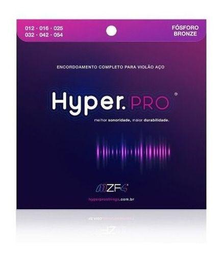 Encordoamento Hyperpro P/ Violão aço 012