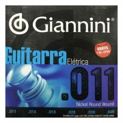 Encordoamento Giannini Guitarra 011 - 049