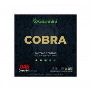Encordoamento Giannini para Baixolão 5 cordas Cobra Fósforo Bronze GEEBASF5 (.045 – .130)