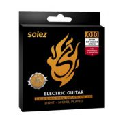 Encordoamento Guitarra Solez 010