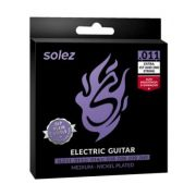 Encordoamento Guitarra Solez 011