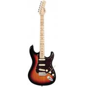 Guitarra Tagima T-635 Sunburst com escudo Tortoise