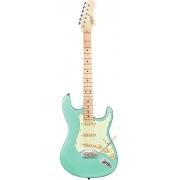 Guitarra Tagima T-635 Surf Green com escudo Mint Green