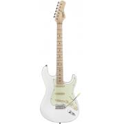 Guitarra Tagima T-635 White com escudo Mint Green
