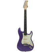 Guitarra Tagima TG-500 Metallic Purple com escudo Mint Green (MPP/MG)