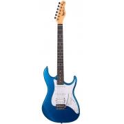 Guitarra Tagima TG-520 Metallic Blue Com Escudo Pearloid White