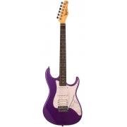 Guitarra Tagima TG-520 Metallic Purple Com Escudo Pearloid White