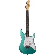 Guitarra Tagima TG-520 Metallic Surf Green Com Escudo Pearloid White