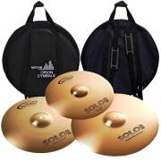 Kit Pratos Orion SP70 Set 14''/16''/20'' c/ Bag - Solo Pro 10