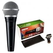 Microfone Dinâmico Shure PGA48-LC